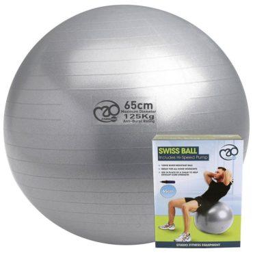 Yoga-Mad 125kg Swiss Ball & Pump
