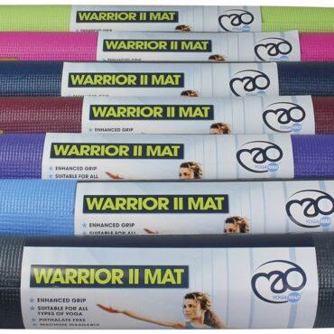 Yoga-Mad Warrior II Mat 4mm