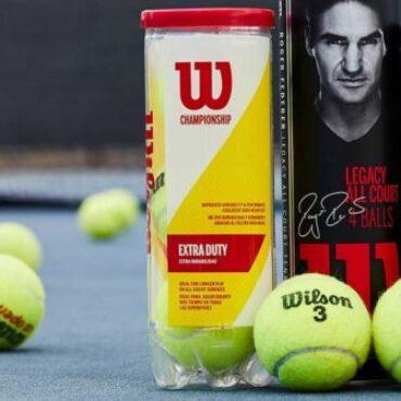 Wilson Tennis Balls (Tube of 4)