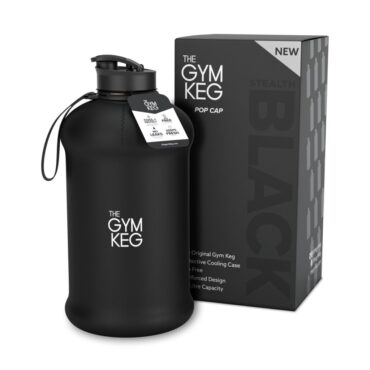 Stealth Black Gym Keg
