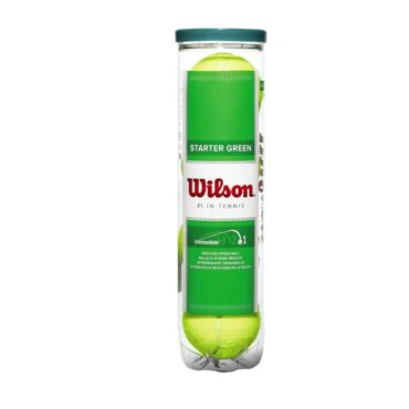 Starter Play Green Tennis Balls - 4 Ball Can