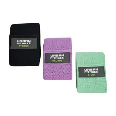 Urban Fitness Fabric Resistance Band loops