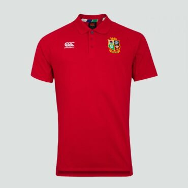 MENS BRITISH & IRISH LIONS PIQUE POLO